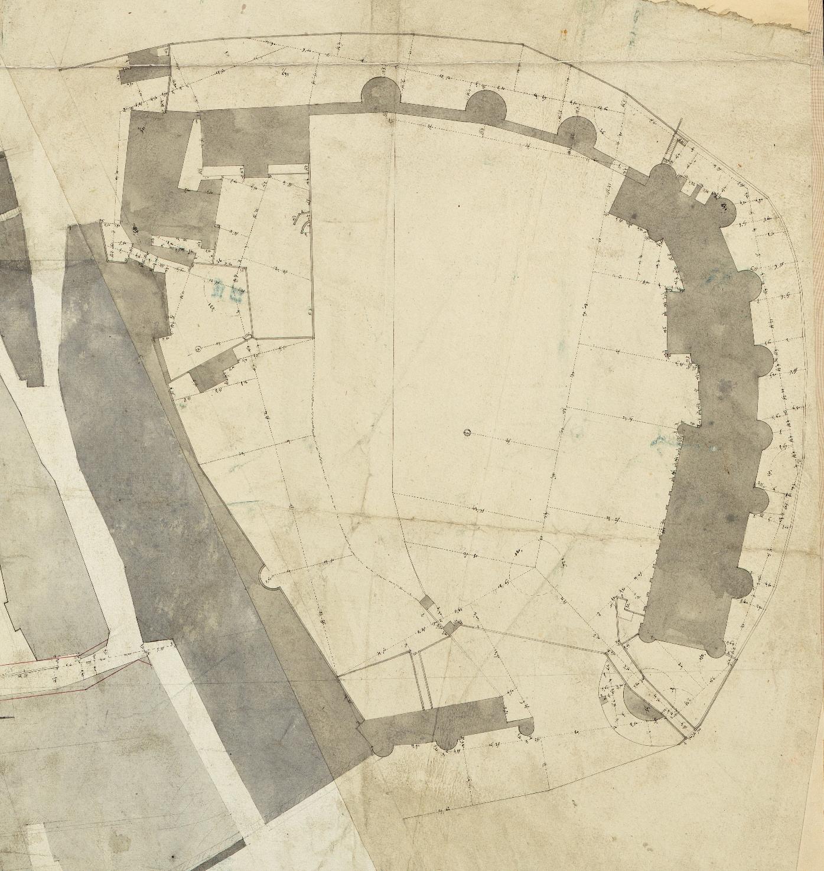 Un plan métré de 1791