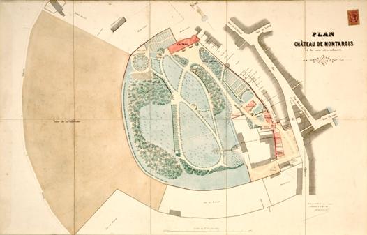 plan chateau en 1897